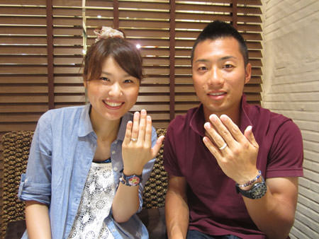 Japanese Wedding Ring Finger