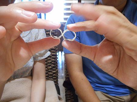 木目金の結婚指輪O003.JPG