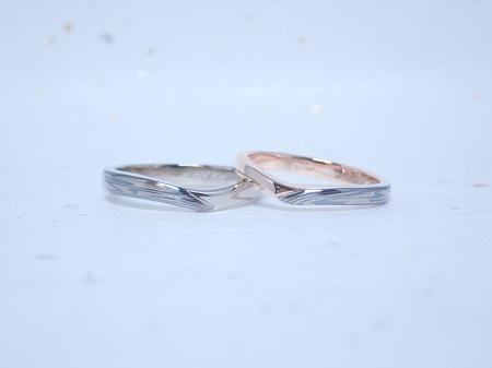 09061401木目金の結婚指輪_Q003.JPG