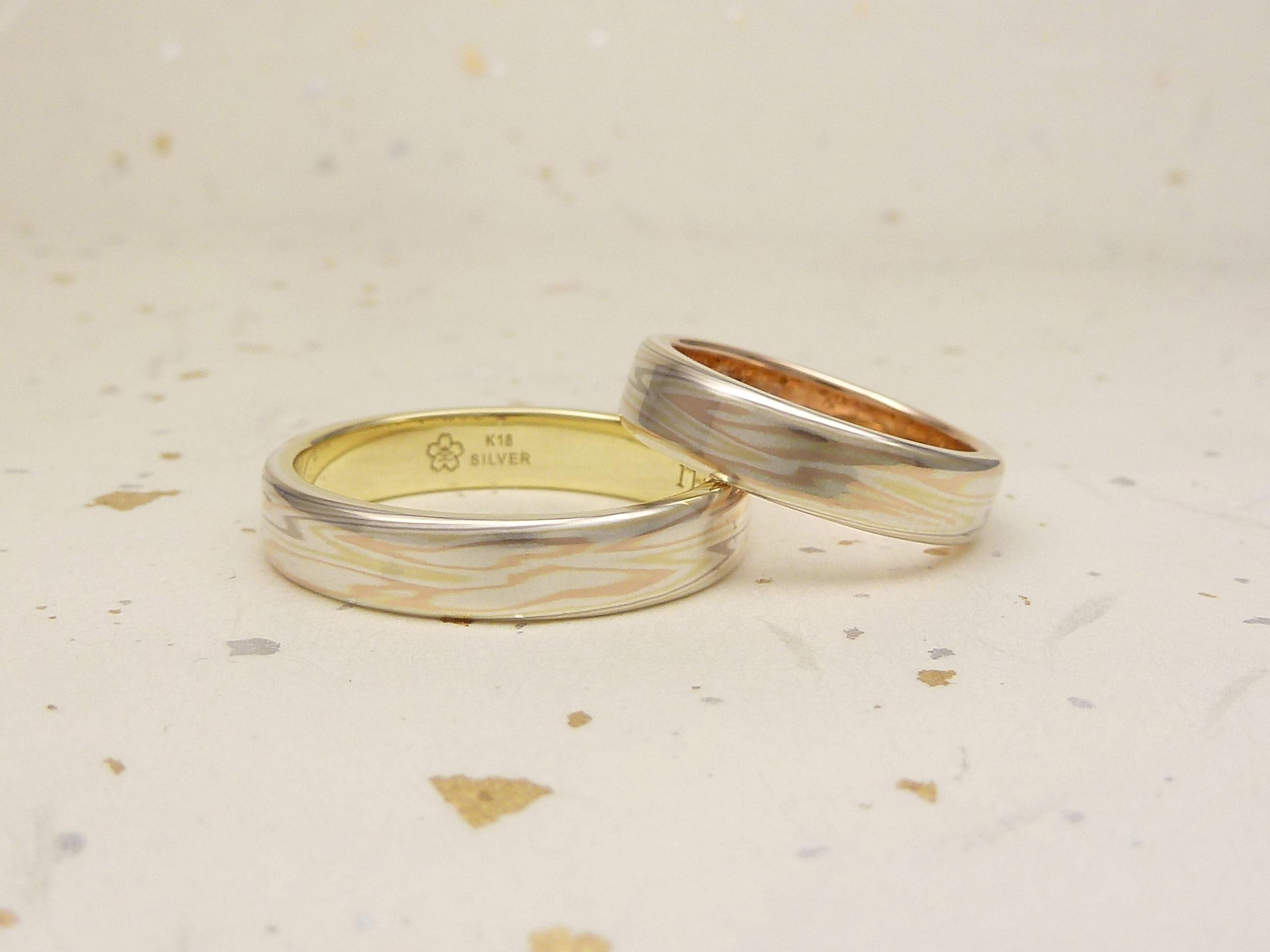 120114木目金の結婚指輪 銀座店002 1.jpg