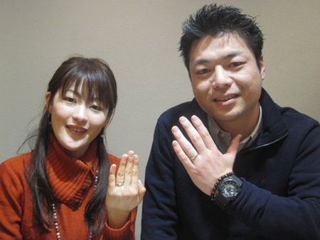 120218木目金の結婚指輪_神戸三宮店001.jpg