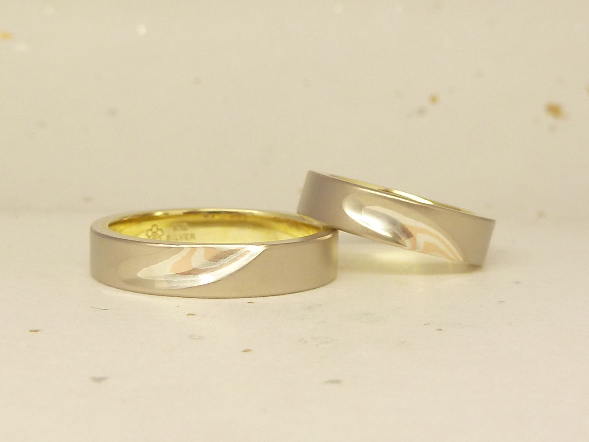 From Mokumeganeya Customer Mokumeganeya Vip Wedding Band And