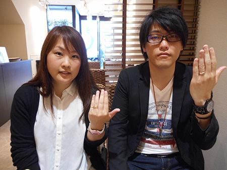 15042901木目金の婚約指輪・結婚指輪001.JPG