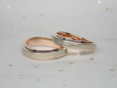 15042901木目金の婚約指輪・結婚指輪002②.JPG