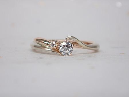 15042901木目金の婚約指輪・結婚指輪002.JPG