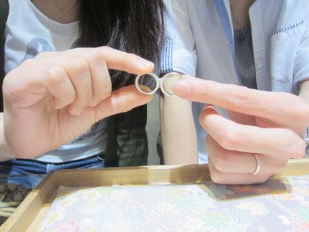 15072003木目金の結婚指輪_U001①.JPG