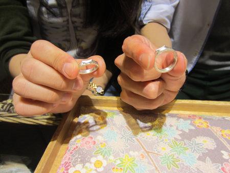 15072003木目金の結婚指輪_U001②.JPG