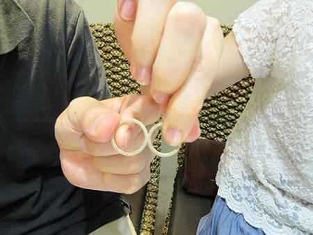 15073004木目金の婚約指輪と結婚指輪N_001.JPG