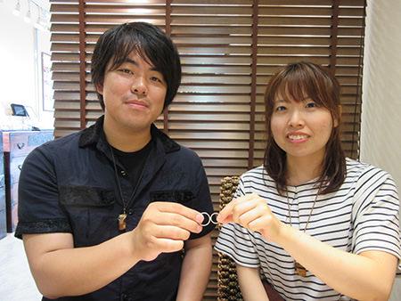 15073006木目金の婚約指輪と結婚指輪N_001.JPG