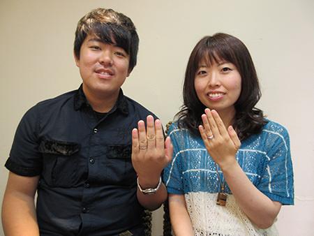 15073006木目金の婚約指輪と結婚指輪N_003.JPG