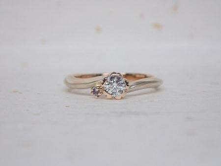 15082203木目金の婚約指輪_G004.JPG