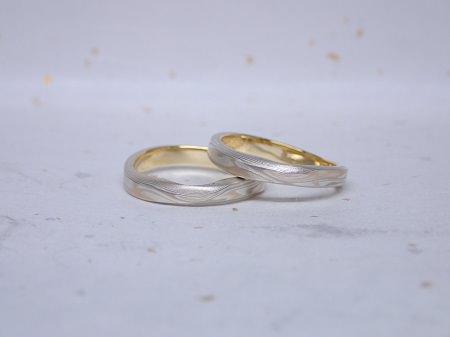15082901木目金の結婚指輪Y_001.JPG