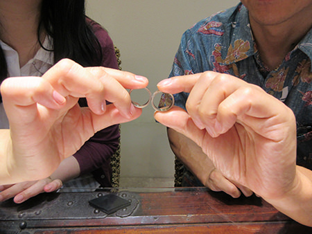 150830木目金の婚約指輪と結婚指輪N_001.JPG