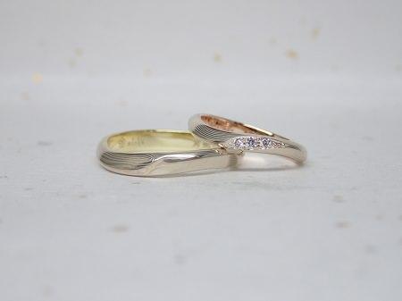 15083001木目金の結婚指輪_B002.JPG