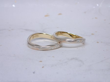 15083003木目金の結婚指輪Y_001.JPG
