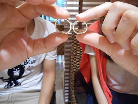 15083003木目金の結婚指輪_O002.JPG