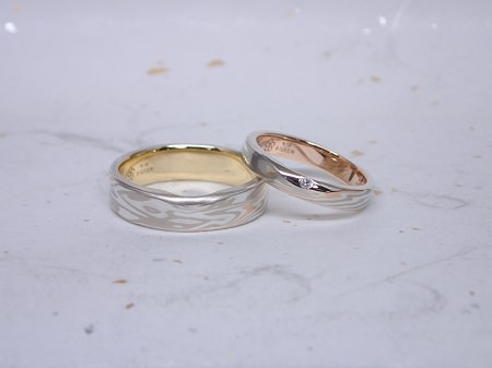 15083005木目金の結婚指輪Y_001.JPG