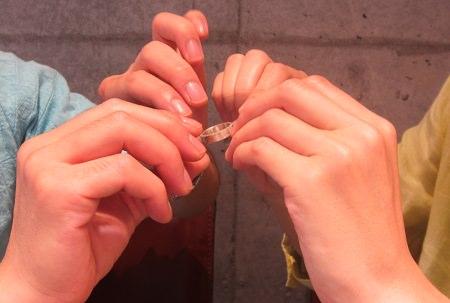 15092402木目金の結婚指輪_U004.JPG