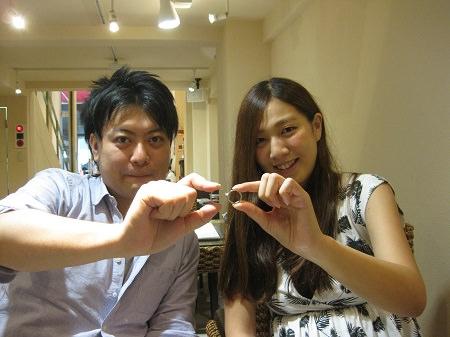 15092705木目金の結婚指輪_G001.JPG