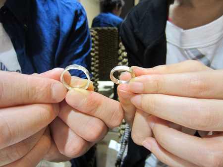 15092801木目金の結婚指輪K002.JPG