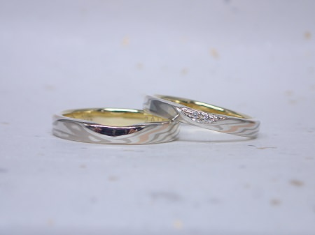 15102501_J004 木目金の結婚指輪.JPG