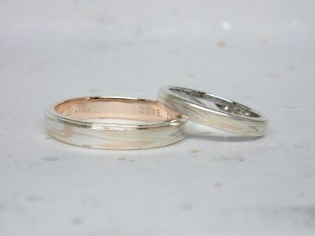 15102503木目金の結婚指輪_G004.JPG