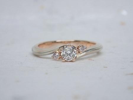 15112904木目金の婚約指輪・結婚指輪K_002③.JPG