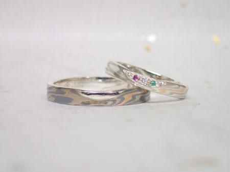 16021301木目金の結婚指輪_H002.JPG