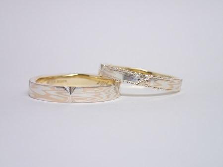 16041301木目金の婚約・結婚指輪_Y005.JPG