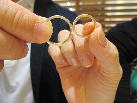 16043001木目金の結婚指輪_M001.JPG