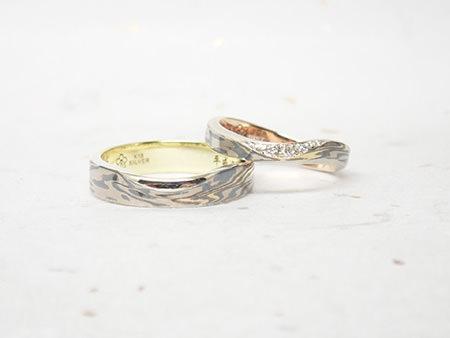 16043001木目金の結婚指輪_E005.JPG