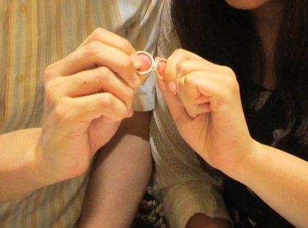 16072302木目金の婚約指輪と結婚指輪M_002.JPG