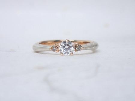 16072303木目金の婚約指輪・結婚指輪 (2).JPG