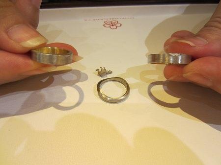 16073002木目金の婚約指輪・結婚指輪K (2).JPG