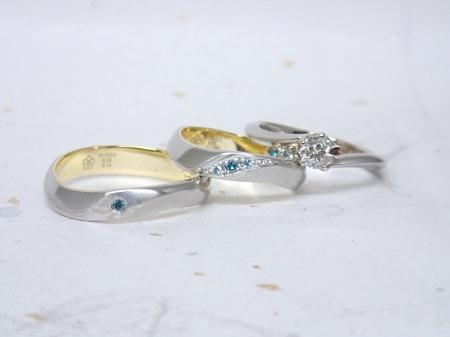 16073002木目金の婚約指輪・結婚指輪K (3).JPG