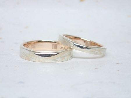 16073101木目金の結婚指輪_A001.JPG