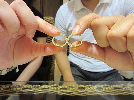 16082101木目金の結婚指輪A_001.JPG