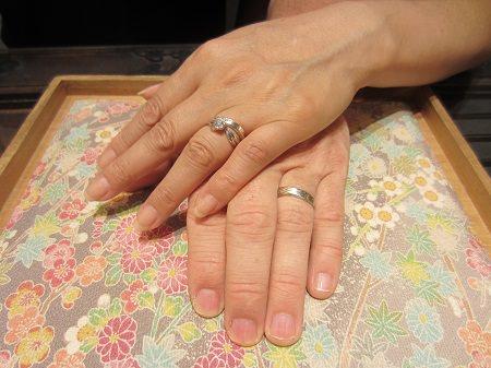 16082501木目金の婚約指輪・結婚指輪_U001.JPG