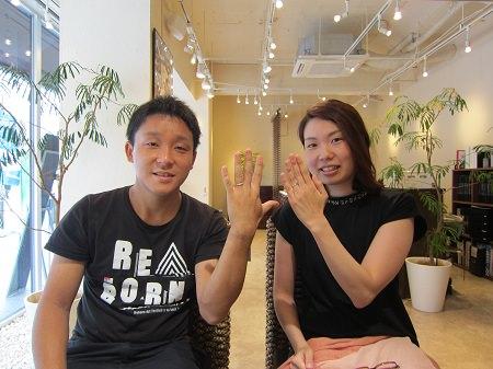 16082501木目金の結婚指輪_B003.JPG