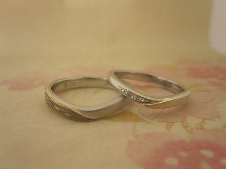 16083001木目金の結婚指輪‗C002.JPG