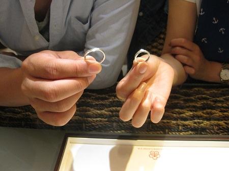 16083102木目金の結婚指輪_G002.JPG