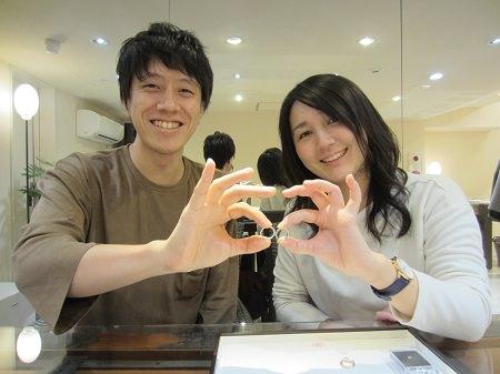 16112702木目金の婚約指輪・結婚指輪K_001.JPG