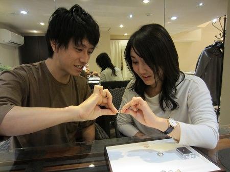 16112702木目金の婚約指輪・結婚指輪K_002.JPG