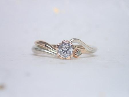 16112702木目金の婚約指輪・結婚指輪K_004.JPG