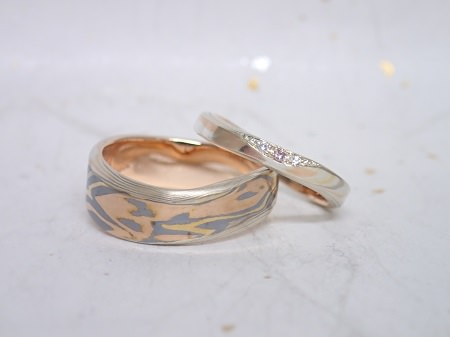 16B06J木目金の結婚指輪_J004.JPG