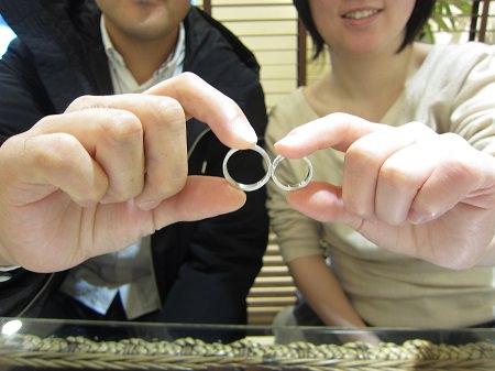 17011402木目金の結婚指輪B_001.JPG