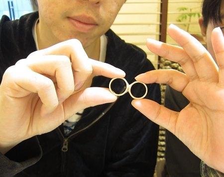 17012201木目金の結婚指輪_B001.JPG