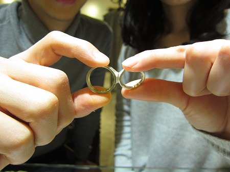 17012301木目金の結婚指輪B_001.JPG