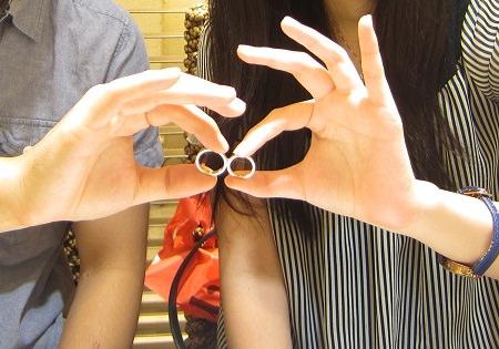 17091101木目金の結婚指輪_B001.JPG