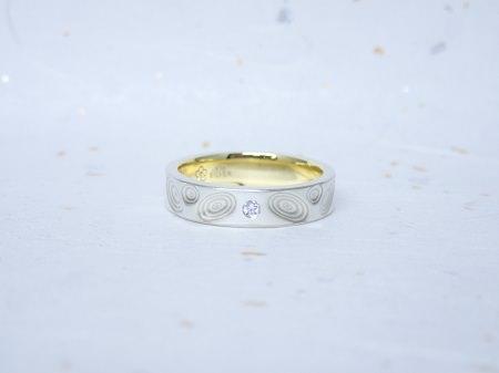 18010301木目金の結婚指輪_M001.JPG